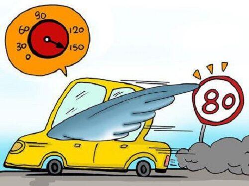 城市道路超速扣分标准