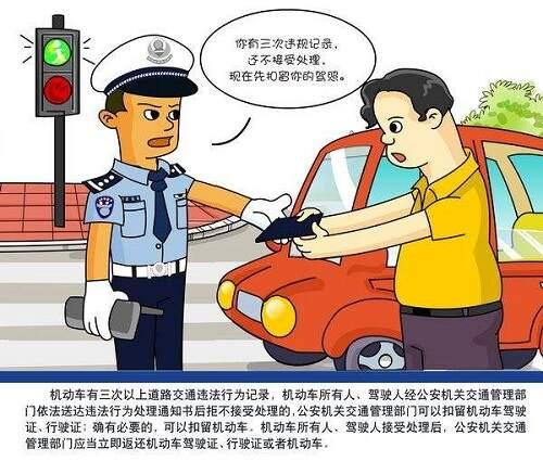 2021年最新道路交通法处罚条例,交通法处罚标准